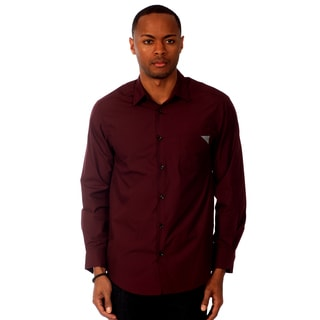 Something Strong Men's Solid Slim Fit Shirt