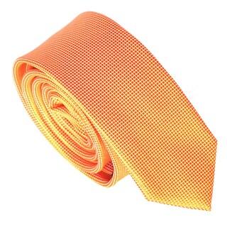 Skinny Tie Madness Men's Solid Skinny Tie