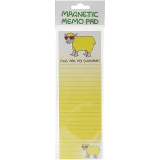 Magnetic Memo Pad 2.75X8.25IN