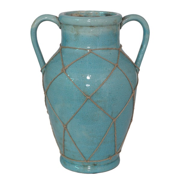 Blue Color Porcelain Vase
