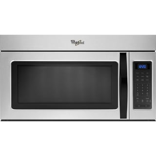 Whirlpool 1.7-cubic-feet Over-the-Range Microwave Universal Silver
