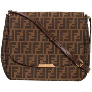 Fendi Large Zucca Cross-body Bag