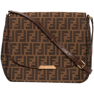 Fendi Large Zucca Cross-body Bag