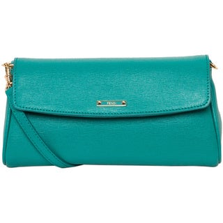 Fendi Small Crayons Aqua Cross-body Bag