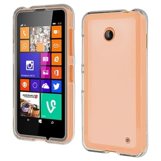 INSTEN Transparent Clear Plastic Snap-on Phone Case Cover for Nokia Lumia 635