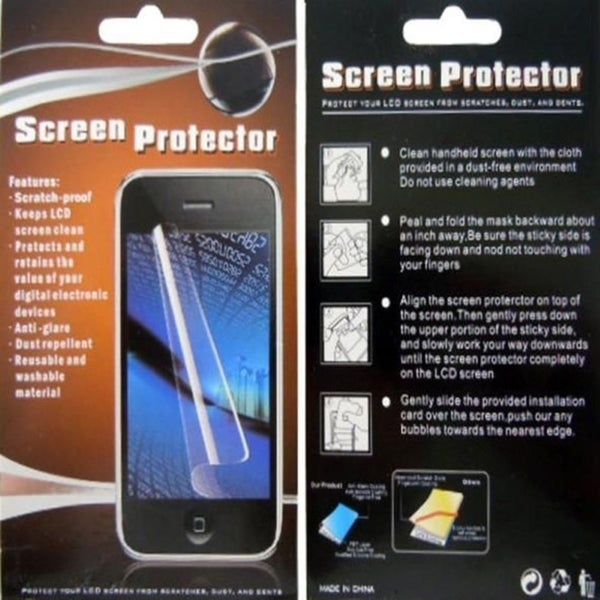INSTEN Regular Clear Screen Protector Film Shield for HTC One 2/ HTC M8