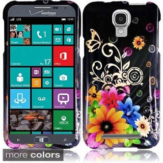 BasAcc Pattern Design Snap-on Cover Case for Samsung ATIV SE W750V Huron