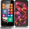INSTEN Colorful Rubberized Hard Plastic Snap-on Cover Phone Case Cover for Nokia Lumia 635