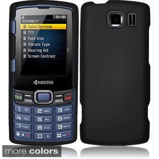 BasAcc Rubberized Plastic Snap-on Cover Case for Kyocera Verve Contact S3150