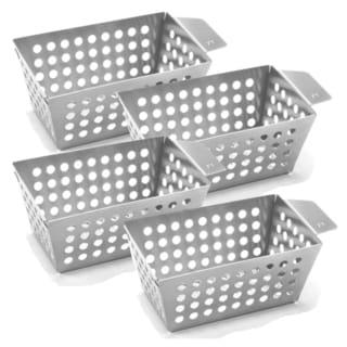 Outset Stainless Steel Side Basket Bundle (Set of 4)