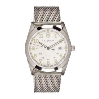 Victorinox Swiss Army Men's 249065 White Dial Stainless Steel Watch