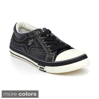 Arider MAR1091 Men's Lace Up Flat Sneakers