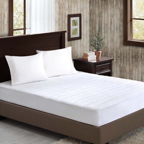 Madison Park Velvet Soft Plush Mattress Pad