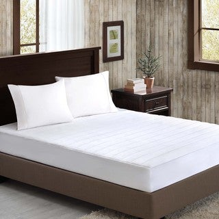 Madison Park Glacier Plush Mattress Pad
