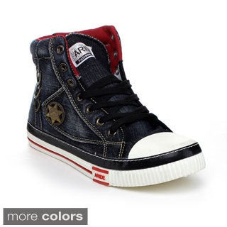 Arider MAR1011 Men's High Top Lace Up Sneakers