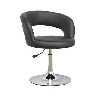 CorLiving Abrosia Black Adjustable Open Back Chair