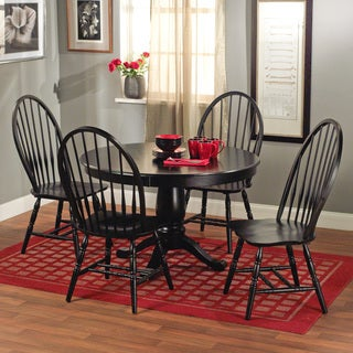 Alexa Black Dining Chairs (Set of 2)