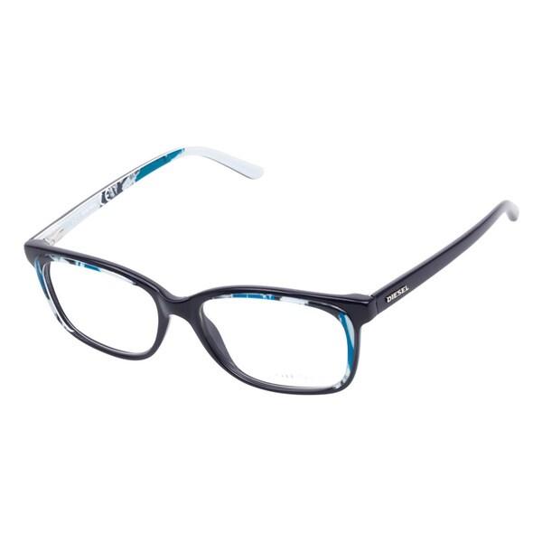 diesel 5008 092 blue prescription eyeglasses