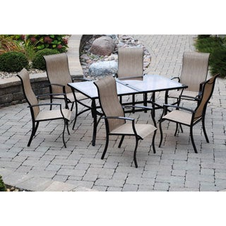 Sun Casual 7-piece Sling Dining Set
