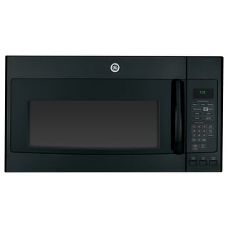 GE Black 1.9 cu. ft. Over-the-Range Microwave Oven