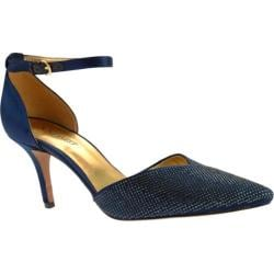 Women's Nine West Knowledge2 Navy Satin