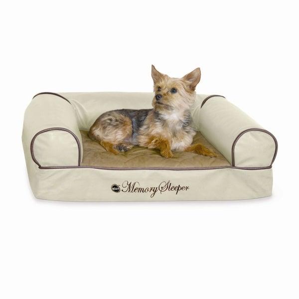 K&H Pet Products Memory Foam Cozy Sofa