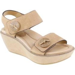 Women's Earth Fauna Beige Nubuck Leather