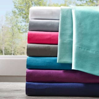 Intelligent Design Microfiber All Season Wrinkle-Free Bed Sheet Set