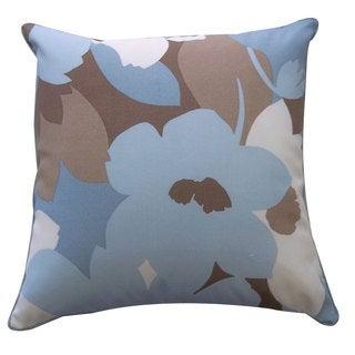 20 x 20-inch Marigold Robin Outdoor Throw Pillow