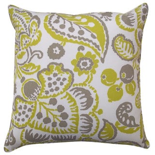 20 x 20-inchGarden Lime Outdoor Throw Pillow
