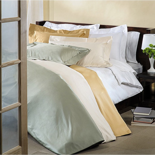 Luxor Treasures Egyptian Cotton 800 Thread Count 3-piece Embroidered Duvet Cover Set
