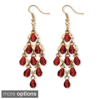 PalmBeach Birthstone Chandelier Earrings Color Fun