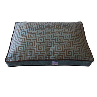Puzzle Grey Small Pet Bed