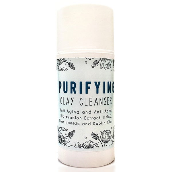 Facelifting Purifying Clay Anti-acne/ Anti-aging Face Cleanser
