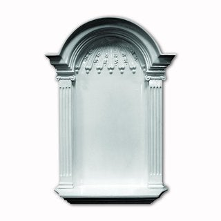 White Wall Niche Surface Mount 34-inch High
