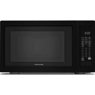 KitchenAid Black 1.6-cubic-foot Countertop Microwave