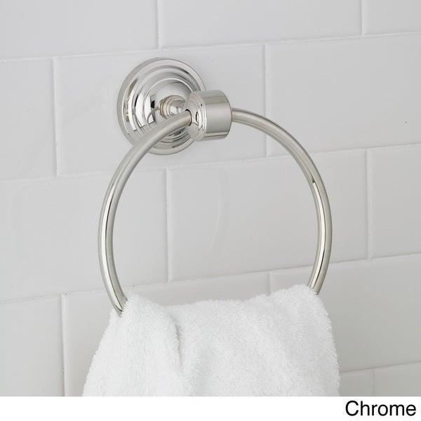 Emily Modern Towel Ring