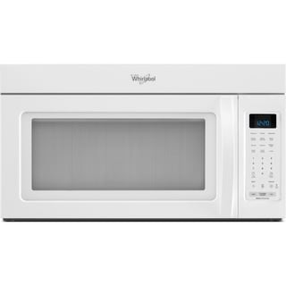 Whirlpool 1.7 cubic foot Over-the-Range White Microwave