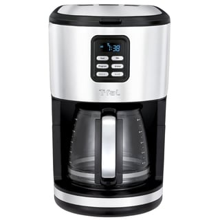 T-Fal CM730D51 12-cup Programmable Coffee Maker with Glass Carafe