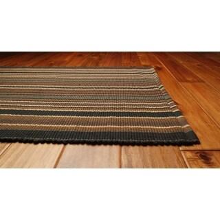 Allegheny Cotton Stripe Rag Rug (6' x 9')