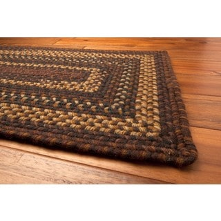 Sahara Wool Braided Rug (1'8 x 2'6)