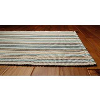 "Portage Cotton Stripe Runner Rug (2'6"" x 6')"
