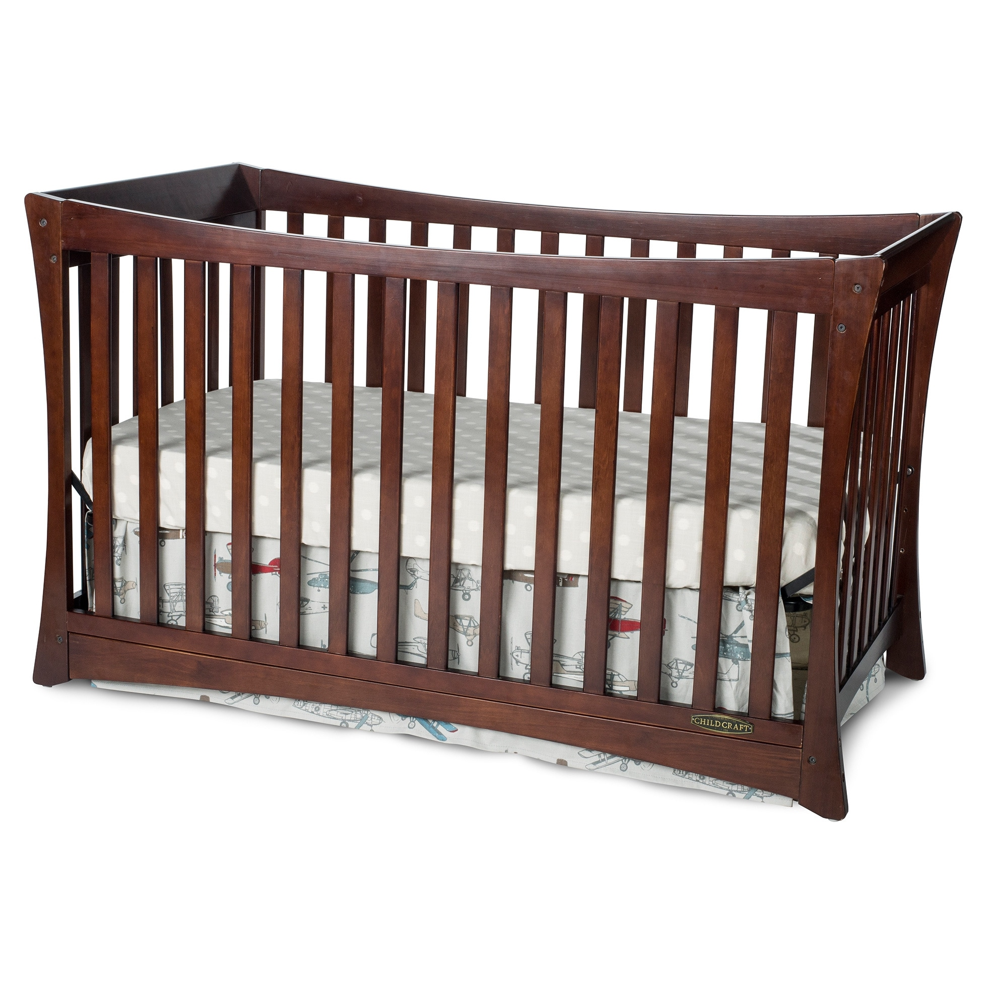 Child Craft Parisian 3-in-1 Stationary Crib in Cherry at Sears.com