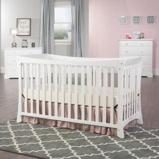 Child Craft Parisian 3-in-1 Stationary Crib in Matte White