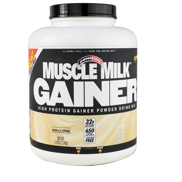 Muscle Milk 5-pound Vanilla Cream Gainer