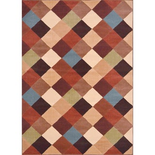 Miranda Contemporary Multicolored Area Rug (7'10 x 10'10)