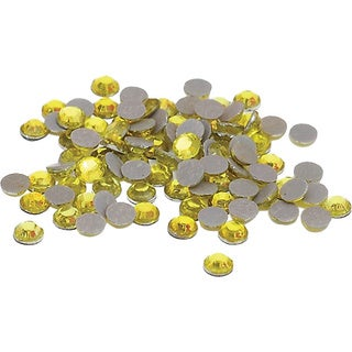 Silhouette Yellow 10ss Rhinestones (Approximately 750 pieces)
