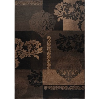 Fresh Transitional Brown Area Rug (5'3 x 7'7)