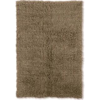 Linon Flokati Super Heavy Mushroom Wool Shag Rug (9' x 12')