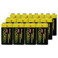 Go Green Alkaline Battery 9V (Pack of 12)